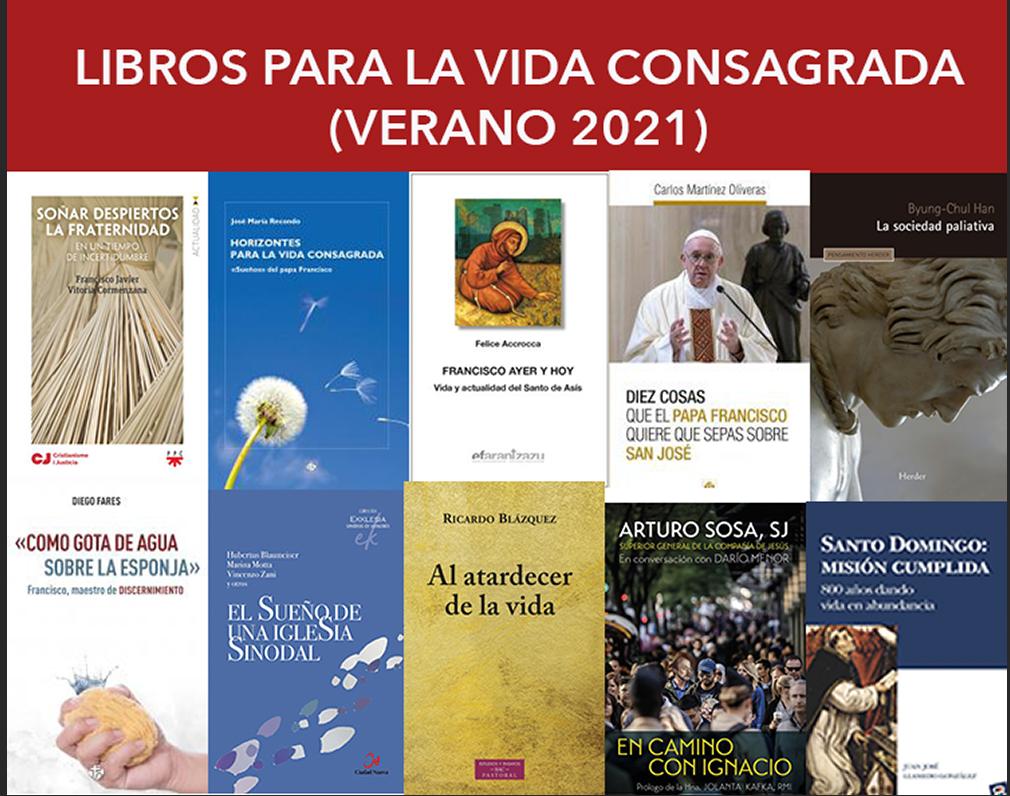 LECTURAS PARA LA VIDA CONSAGRADA (VERANO 2021)