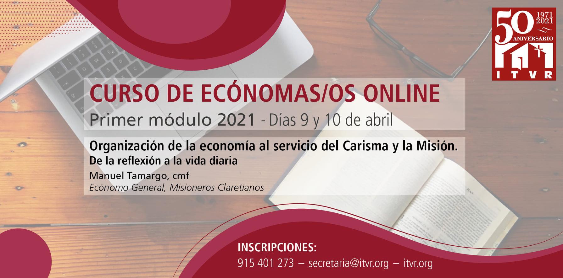 CURSO DE ECONOMOS/AS ON-LINE  (ITVR-MADRID)