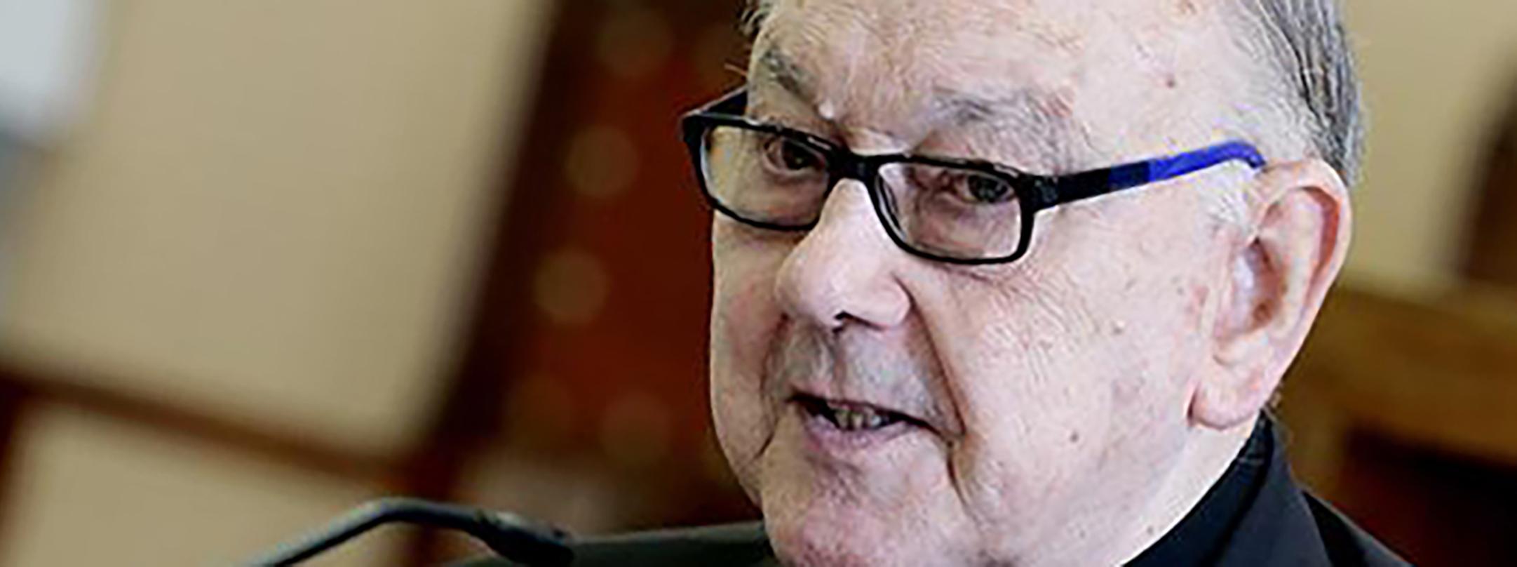 FALLECE EL CARDENAL FERNANDO SEBASTIÁN AGUILAR, CMF