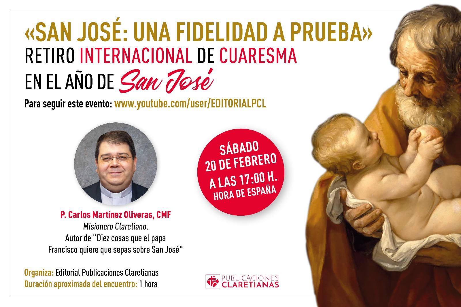 RETIRO INTERNACIONAL DE CUARESMA (AÑO DE SAN JOSÉ)