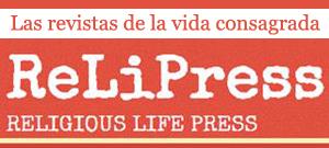 Banner Relipress. Servicio Revistas Vida Consagrada